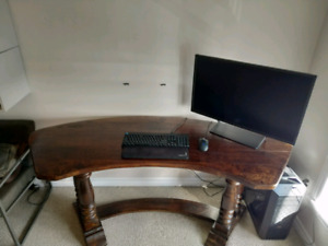 Solid Hardwood Desk