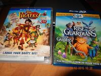 blu-ray et dvd