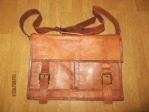 Brand new leather briefcase