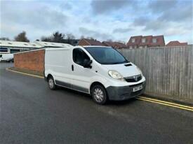2007 Vauxhall Vivaro 2.0 CDTi 2700 Panel Van (EU4, SWB) NO VAT + 42,000 MILES