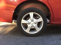 """Nissan nv200 15"""" alloy wheels with tyres. 4 x 100 4 x 114.3 multi fit Honda Civic Mazda"""