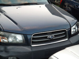 Subaru Forester Lights Fenders Body Panels