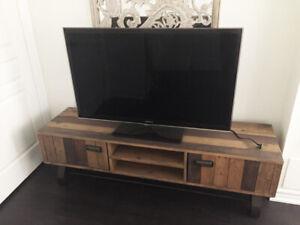 Samsung TV + Urban Barn stand