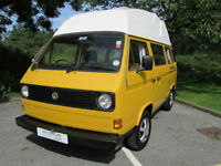 Volkswagen VW T25 Bamboo Yellow