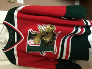 Halifax Mooseheads authentic road jersey 1994-2009. CCM size 48