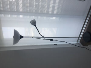 Floor uplight/ reading lamp (Black)