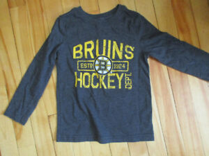 size 5 Boston Bruins long sleeved shirt