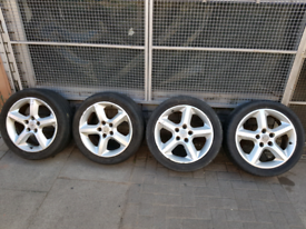 """17"""" inch Vauxhall Astra sri Alloy wheels with tyres"""