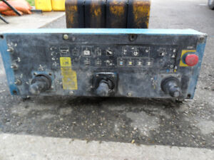 Transport  truck dump/blower controler box