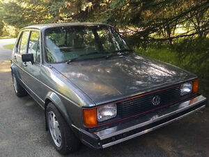 1984 Volkswagen Rabbit 1.6 TurboDiesel 5 speed + parts 4000$