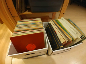 163 Vintage Records - Country, Classical, Folk, Polka, Kids