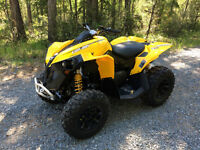 2013 Can-Am Renegade 1000 Quad like new
