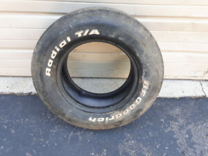 ONE - B F GOODRICH RADIAL TA TIRE 235 60 14 $25.00