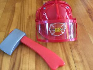 Costume Halloween -accessoires pompier-enfant