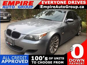 2006 BMW M5 LEATHER * SUNROOF * TIPTRONIC * RARE FIND