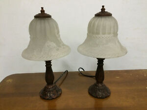 Cast Iron Lamp - Set of 2 available
