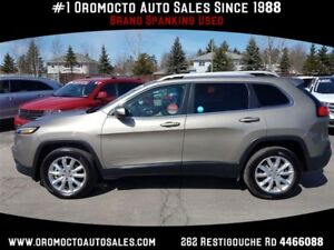 2017 Jeep Cherokee Limited Limited,ALL WHEEL DRIVE,11678 KM