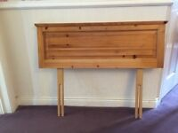 Single Bed Headboards - solid pine