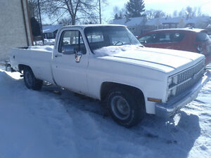 1981 chev Silverado 2wd long box