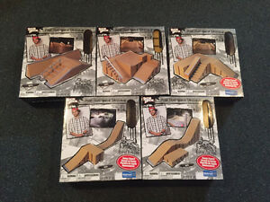 Tech Deck Ramps - Still in original boxes!