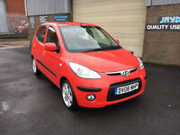 2008 HYUNDAI i10 1.1 STYLE 5 DOOR,ONLY 32000 MILES WITH SERVICE HISTORY,