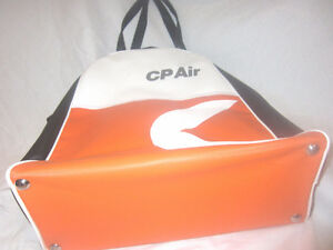Vintage Canadian Pacific Air Flight Bag