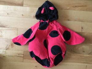 Cute ladybug costume for Halloween (3-6 months)