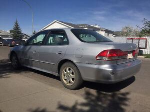 2001 Honda Accord Sedan Edmonton Edmonton Area image 2