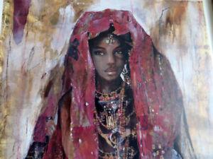 Deux tableaux style africaine