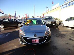 2010 Mazda Mazda3 GX Sedan E-TESTED & CERT