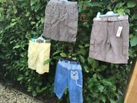 BOYS AGE 2-3 SHORTS/TROUSER BUNDLE BNWT.