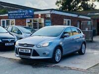 2011 Ford Focus 1.6 ZETEC 5d 124 BHP Hatchback Petrol Manual