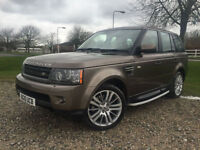 2010 Range Rover Sport 3.0TD V6 HSE COMMANDSHIFT Automatic Diesel in Bronze