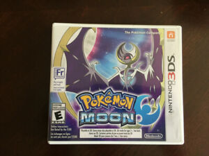 Pokemon Moon (Nintendo 3DS) -- Excellent Condition