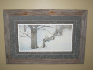 "Robert Bateman - ""Window into Ontario"" Limited Edition Print"