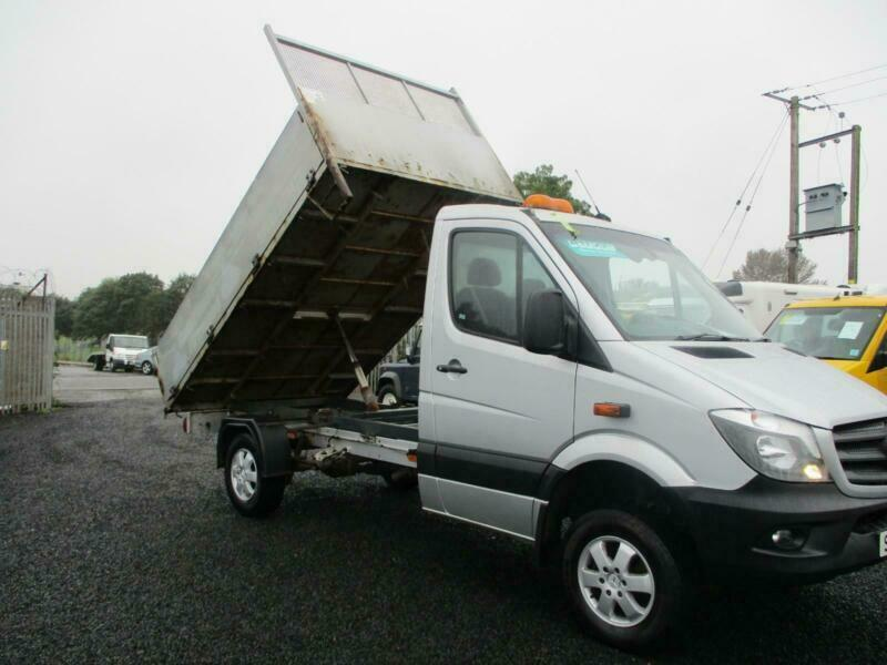 2016 65 PLATE MERCEDES SPRINTER 316 CDI 4X4 TIPPER PICK UP ( ONLY 81K ) |  in Kirkcaldy, Fife | Gumtree