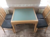 Beechwood Table and Chairs