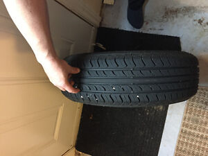 Tire and rims