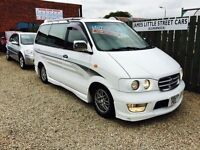 Nissan largo highway star 2.4 automatic campervan 8 seater fold out double bed 4x4 1998 model