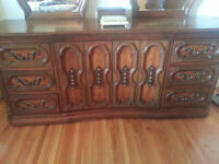 Credenza / sideboard... or dresser with added mirrors