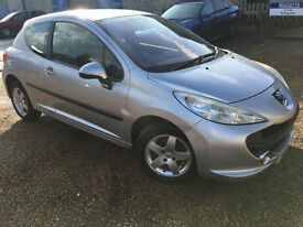 2007 '07' Peugeot 207 1.4 Sport. Petrol. Manual. 3 Door. First Car. Px Swap