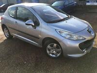 2007 '07' Peugeot 207 1.4 Sport. Petrol. Manual. 3 Door. First Car. Px Swap