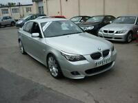 2008 BMW 525i 3.0 i M Sport 220bhp Finance Available
