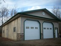 Need A Pole Shed or shop before the winter ?