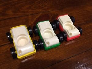 Vintage Fisher Price Little People Cars