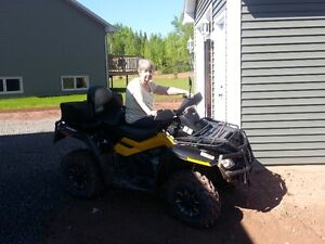 Used 2011 Can-Am Outlander Max XT-P 650