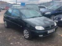 2001/51 Citroen Saxo 1.1i Desire LONG MOT EXCELLENT RUNNER