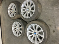 BMW 328  WHEELS AND TIRES SET Calgary Alberta Preview