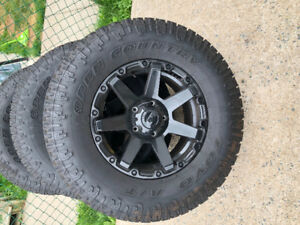 5x5.5 dodge rims and tires