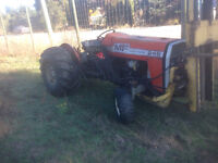 tractor with binlifter
